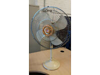 Retro electric fan