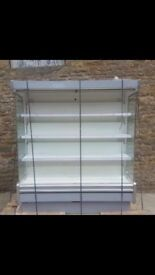 MULTIDECK CABINET WHITE TRIM
