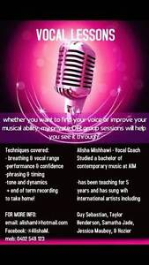 Vocal Lessons Sydney City Inner Sydney Preview