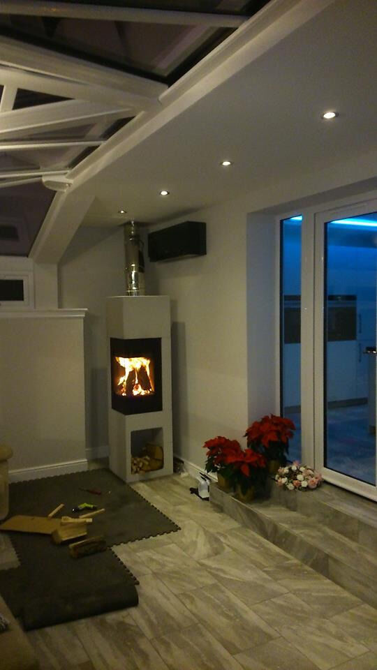 Stove Safe Fireplaces, stoves, flue systems, fire features, Installations, and chimney stacks work