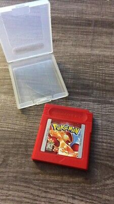 Pokemon Red Version Nintendo Game Boy Game