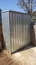The Qiq Fix Zinc Garden Shed  (pick up only) Thornbury Darebin Area Preview