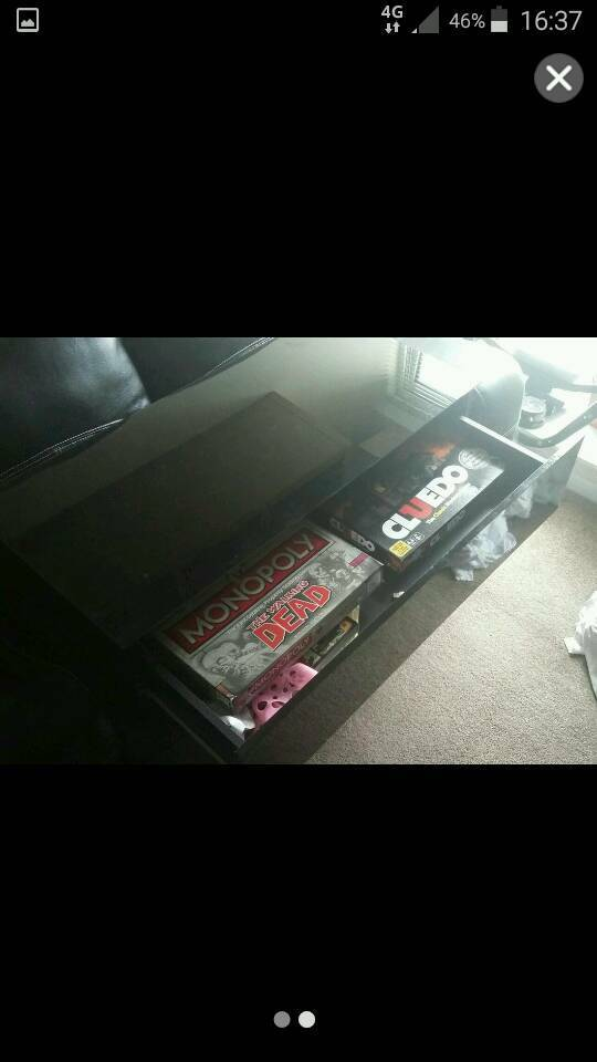 TV unit with draw