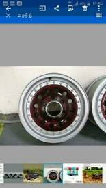 "4x4 16"" Japanese alloy wheels"