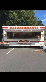 18 ft Catering trailer / Burger van