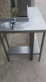 corner hand basin