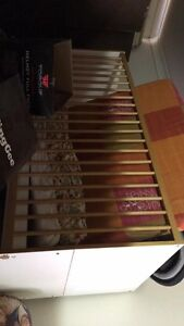 Wooden Cot + foam mattresses East Kempsey Kempsey Area Preview