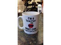 Mug for a teacher.