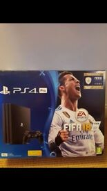PS4 Pro Console + Game