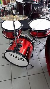 Batterie enfant 3 -7 ans Stagg 3mcx Bass drum 12'' TIMJR3/12R