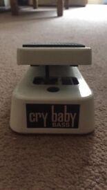 Cry Baby Bass Wah