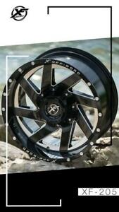 Canadas Wheel Superstore! XF Off-Road 205 Gloss Black Milled! SPRING SALE NOW BEGINS !!!