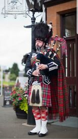 Wedding Piper for hire Wedding Bagpiper for hire Piper for entertainment and all occasions Glasgow