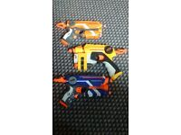 3 Nerf Firestrike Guns