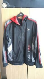 Men Black and Red Jacket size Medium