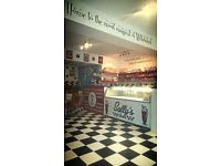 American style shakes and diner for sale