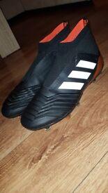 Adidas predator 18+ FG Size 9 worn once!