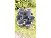 20 - 30L Plant/Tree Plant Pots x 10