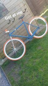 Fixie bike (mint)