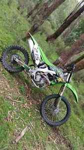 2012 Kawasaki KX250F Narellan Camden Area Preview