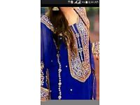 Special asian wedding hand work gota embroidery unstiched suits