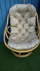 Bamboo chairs ideal for conservatory