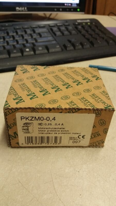KLOCKNER MOELLER PKZM0-0,4 MOTOR PROTECTOR, NEW