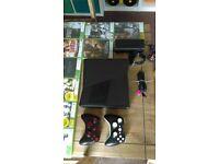 XBOX 360 CONSOLE & GAMES 250GB