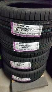 nexen winguard sport 225/45R18 95v xl $640 cash for 4, ( last 4 set left)