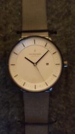 NEW Nordgreen men's Philosopher - Gun Metal   Mesh   36mm watch