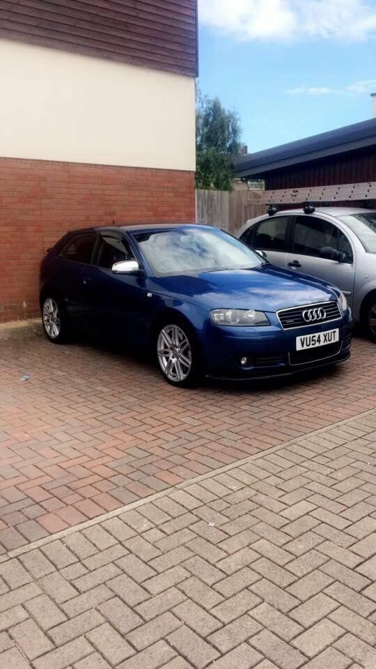 AUDI A3 3.2 V6 QUATTRO SPORT SLINE DSG SAME ENGINE AS R32!
