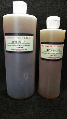 RED FOX URINE 100% PURE, PROFESSIONAL QUALITY TRAPPING FOX COYOTE LURE BOBCAT