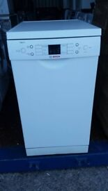 Bosch Slimline Dishwasher - Excellent condition / Free local delivery and fitting