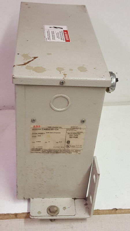 ABB C485G35-CH 35KVAR 480V/3PH/60Hz Capacitor