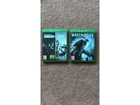 Xbox One Games - Excellent Condition