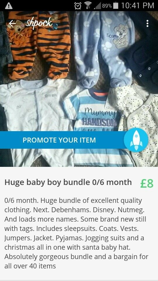 Huge bundle of baby boy clothing