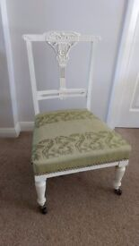 Antique Victorian / Edwardian Nursing / Occasional Chair