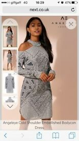 Angeleye BNWT cold shoulder dress