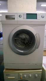 white siemens 6kg 1400 spin digital washing machine