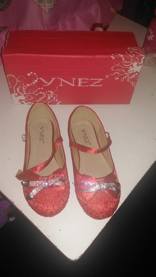 Red Girls Shoes BNIB