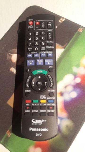 Replacement Remote For Panasonic Blu-ray DVD DMP-BD75 IR6 DMP-BD755