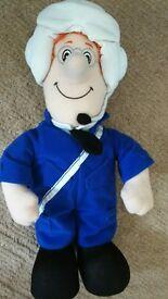 Postman Pat pilot talking soft toy