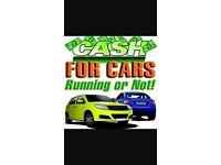 Cash for scrap cars/vans 4x4 motorbikes