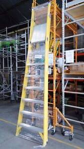 AR-Platform fiberglass ladders heavy duty overall height 3.43m Port Adelaide Port Adelaide Area Preview