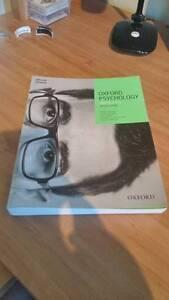 Oxford Psychology Units 3&4 Second Edition Mosman Park Cottesloe Area Preview