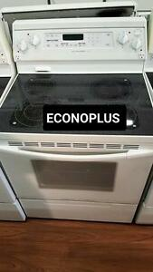 ECONOPLUS LIQUIDATION CUISINIÈRE KITCHENAID  VITROCÉRAMIQUE 549.99$ TX INCL