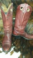 ALBERTA BOOTS Cowboy boots Size 10 1/2 D