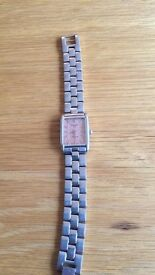 GENUINE Ladies Tissot Watch. no scuffs, in need of a new battery.