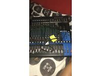 Yamaha MG16XU 16 channel mixer