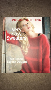 Vogue Knitting Very Easy Sweaters - Hardcover Book
